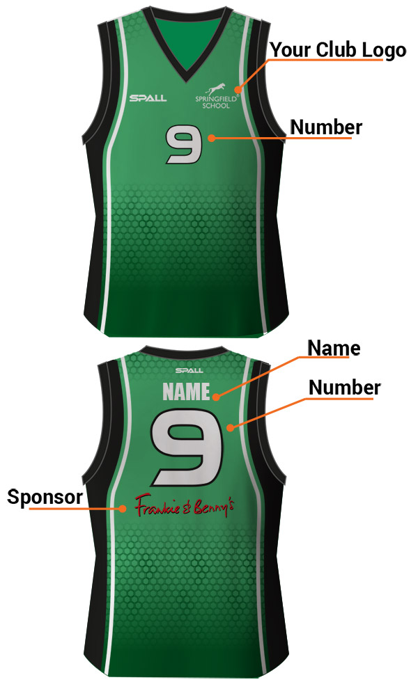 Spall Basketball Kits Have Unlimited Amounts Of Customisation Options