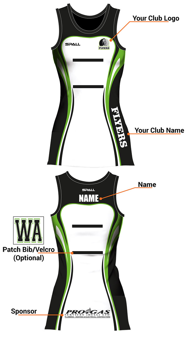 Spall Netball Kits Have Unlimited Amounts Of Customisation Options