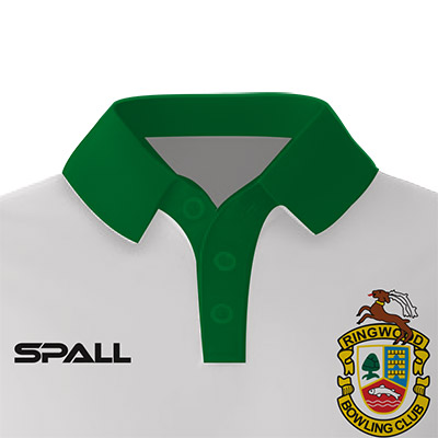 choose from 4 different collar options in your custom Spall Bowls Sportswear