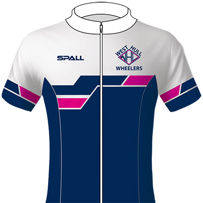Spall Cycling Jersey With A Full Zip