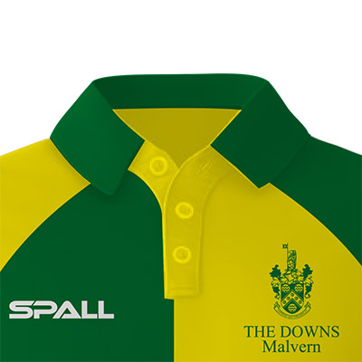 Spall Hockey Shirt With A Buttoned Collar
