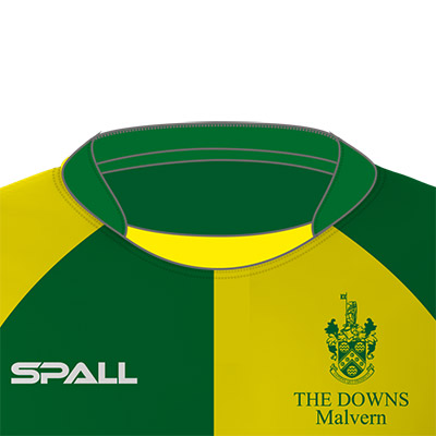 Spall Hockey Shirt With An Inset Collar