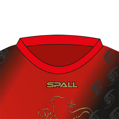 Spall Martial Arts Shirt With A Round Neck
