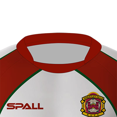 Spall Rugby Shirt With Inset Collar