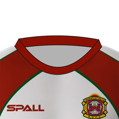Spall Rugby Shirt With Round Neck Collar