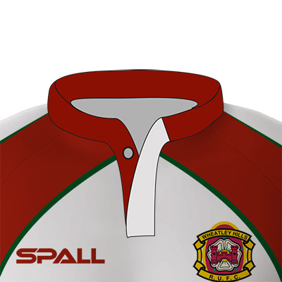 Spall Rugby Shirt With Stub Collar