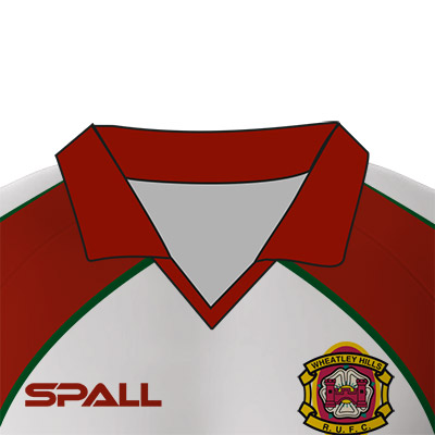 Spall Rugby Shirt With A V Neck Collar