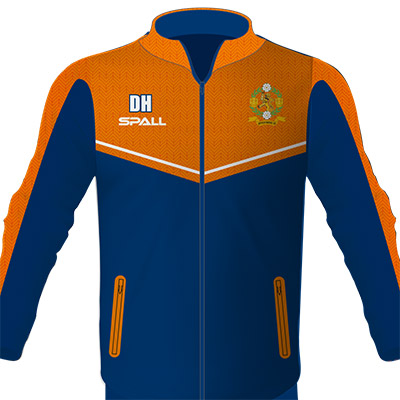 Spall Part Sublimated Jacket With Full Zip