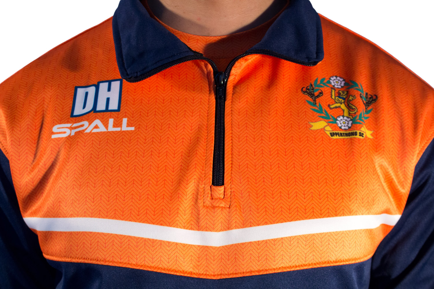Spall Part Sublimated Quarter Zip Top