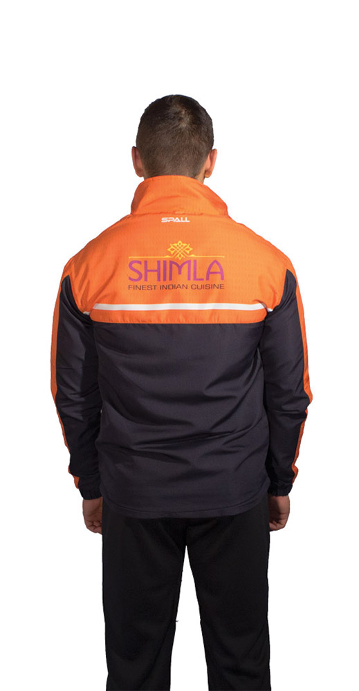 Spall Part Sublimated Windbreaker From The Back