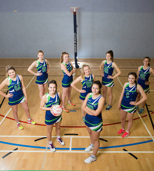 Wildcats Netball Team