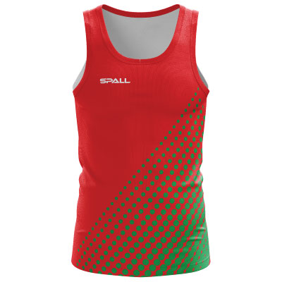 Spall Sublimated Athletic Vest 004